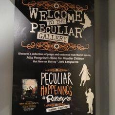 The Miss Peregrine's Home For Peculiar Children exhibit @ripleyslondon #brilliant #kidsloveit