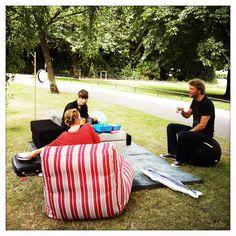 Silvia Knuppel and Marc Suxdorf in Hamburg | Hometta | design on board+