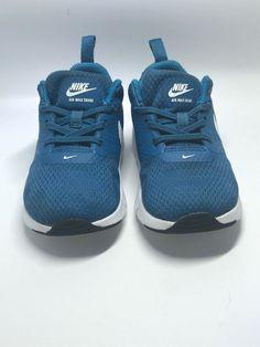 d7f08ba4243a7 Nike Air Max Tavas Shoes Blue Boys Toddler 7C  fashion  clothing  shoes