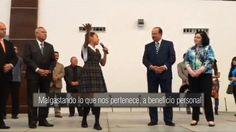 Una adolescente 'regaña' en un acto público al gobernador de #Chihuahua, México [VIDEO] http://cnn.it/1KP64AU