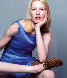 Louis Vuitton, Vogue UK, May 1998.