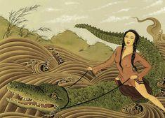Mongolian Pop Art (12 pieces) - My Modern Met