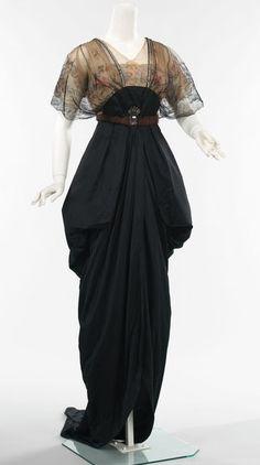 Black Vintage Gown