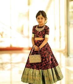Baby Frock Pattern, Frock Patterns, Baby Dress Patterns, Kids Indian Wear, Kids Ethnic Wear, Baby Lehenga, Kids Lehenga, Kids Frocks Design, Baby Frocks Designs