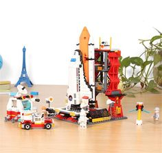 GUDI 8815 679Pcs Star Wars Space War The Shuttle Launch Center Model Building Block Bricks Toys Compatible with lego