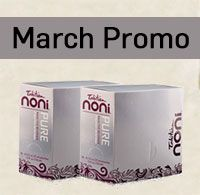 Pure is a concentrated version of noni iridoids, perfect for blending into your favourite smoothies or other drinks. Just one tablespoon adds an 18 mg shot of pure noni fruit and noni leaf iridoids to your food. For March only, save 40% on Pure Satchel 10pks