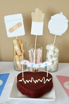 Is your profession a Doctor or Nurse? Would you like your baby-to-be to follow in your foot steps? Well if you answered yes, this is the perfect place to be. Our Little Doctor/Nurse On The Way will be the perfect theme for your upcoming baby shower. We have put together a creative table of goodies showcasing …