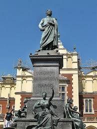 Mickiewicz monument krakow