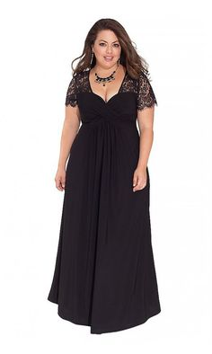 IGIGI by Yuliya Raquel Monica Gown in Black