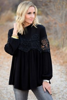 Luxe Lace Blouse!