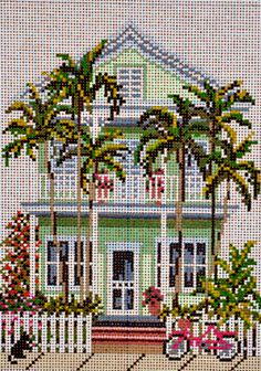 Needlepoint Alley, Inc.: 7/12 - Island House