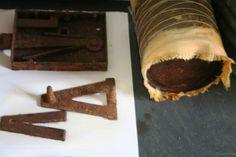 Alice Fox Rust Marks workshop 5