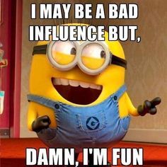 35 Funniest and Hilarious Minions Quotes so you can enjoy minions at the best ! ALSO READ: 30 Funny Minion banana Quotes ALSO READ: 30 Funny Evil Minions Quotes Amor Minions, Minions Quotes, Minion Meme, Funny Minion Pics, Bad Minion, Minions Images, Minions Minions, Happy Birthday Quotes, Happy Birthday Images
