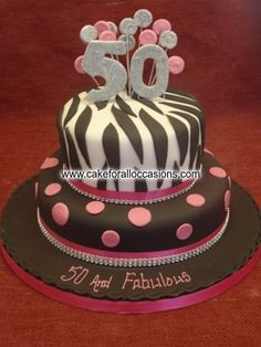 Cake L032 :: Women's Birthday Cakes :: Birthday Cakes :: Cake Library - Cake for all Occasions