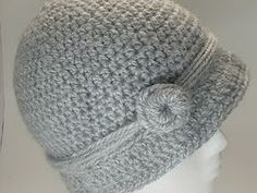Free Crochet Classic Cloche Pattern-cute!! I should make one to match the new winter coat I have to buy.