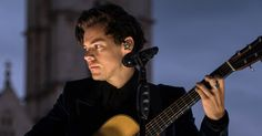 Watch Harry Styles Perform 'Two Ghosts' From London Rooftop on 'Corden' #headphones #music #headphones