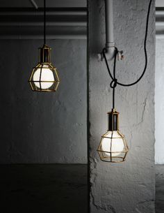 """Work lamp"" by Design House Stockholm. Simply inspirational by www.ConfidentLiving.se."