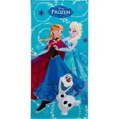 Disney Frozen Snowflake Swirl Cotton Beach Towel