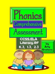 This comprehensive phonics assessment is useful at the beginning of the year to help with targeted instructional planning, at or near the end of the school year to determine specific phonemes &/or letter patterns your students still need to work on, or Teacher Pay Teachers, Teacher Resources, School Resources, Instructional Planning, Ccss Ela, Beginning Of The School Year, Letter Patterns, Phonemic Awareness, Letter Sounds