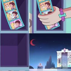 Ooh she took the photos! Does that mean she still has feelings for Marco? (No idea, just speculation) Tom Star, Starco Comics, Star E Marco, Kawaii Disney, Star Children, Blood Moon, Star Butterfly, Star Vs The Forces Of Evil, Force Of Evil