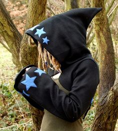 Starry Korrigan Shrug by tpffaeriewear on Etsy, £50.00