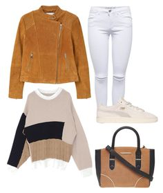 """Untitled #9065"" by beatrizibelo ❤ liked on Polyvore featuring MANGO, Puma and Dorothy Perkins"