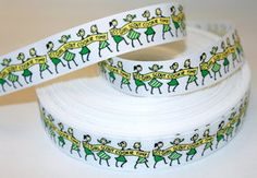 This website has all kinds of awesome ribbon that sells by the yard