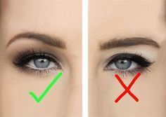 Makeup for Hooded Eyes, Hacks, Tips, Tricks, Tutorials-Makeup hacks, tips, tricks for people who have hooded eyelids