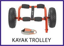 Kayak trolley by Solution