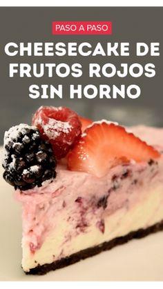 Frozen Desserts, No Bake Desserts, Delicious Desserts, Dessert Recipes, Yummy Food, Cheesecake, Deli Food, Un Cake, Queso