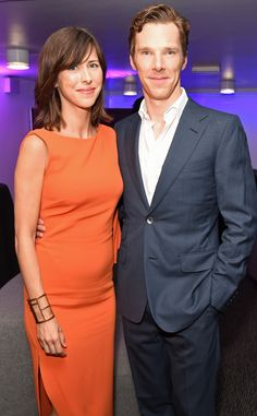 Benedict Cumberbatch & Sophie Hunter from The Big Picture: Today's Hot Pics  The new parents stunned at the Hamletafter party.