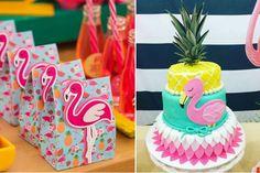 Festa de flamingo: 30 ideias para você se inspirar | Bebe.com.br