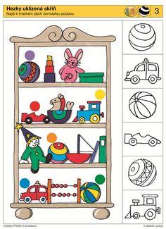 LOGICO PRIMO | Pro děti od 3 let | V dětském pokoji | Didaktické pomůcky a hračky - AMOSEK