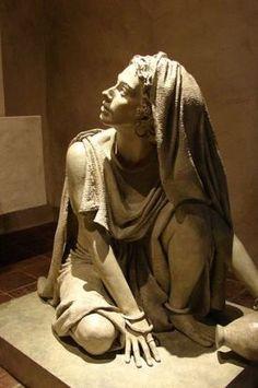Mary Magdalene statue in Santa Barbara Mission