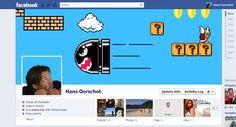 "Facebook Coverphoto ""Bulletdodger"""