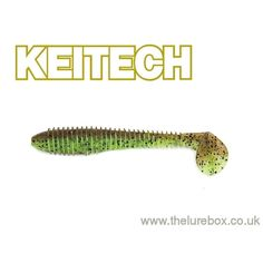 "Keitech Fat Swing Impact 2.8"" Green Pumpkin/Chartreuse"