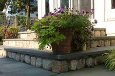 Romantic Tarrytown Terrace - eclectic - landscape - new york - by Westover Landscape Design, Inc.