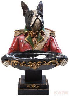 Schale Gentleman Dog 39cm