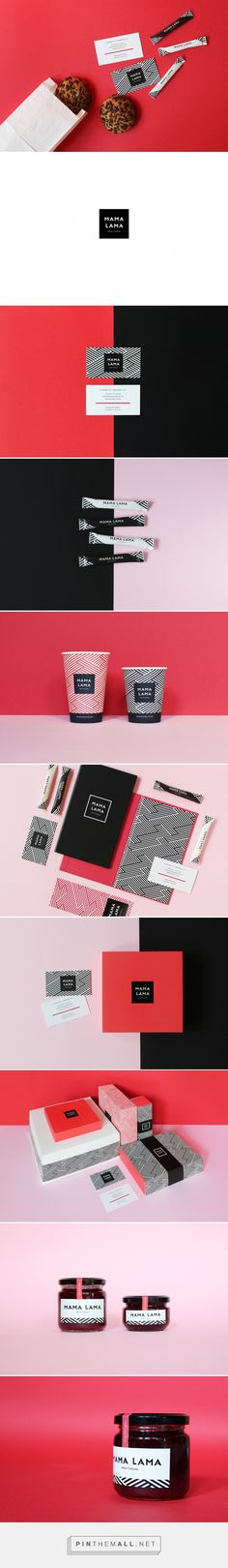 Mama Lama Cafe Branding by Canape Agency   Fivestar Branding Agency – Design and Branding Agency & Curated Inspiration Gallery #cafe #cafebranding #branding #brand #design #designinspiration #brandinginspiration