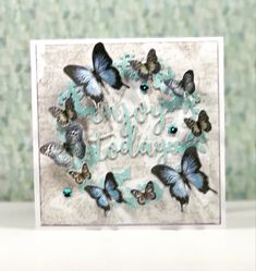 Craftwork Cards, Challenge Group, Butterfly Kisses, Color Card, One Design, I Card, Card Ideas, January, Card Making