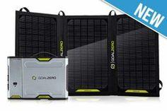 Sherpa 100 Solar Kit - GOAL ZERO Portable Solar Power - Canada