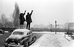Berlin Wall. Christmas 1962.
