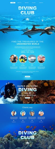 Diving Muse Template #54658