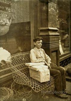 Resting Child Laborer