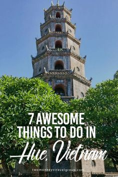 """7 Awesome Things to Do in Hue, Vietnam Right in the middle of Vietnam, Hue was the capital for 143 years (1802 – 1945). It is a city rich with history. Hue is home to 7 imperial tombs as well as the ancient imperial city. During the Vietnam war, Hue suffered badly. The """"Battle of Hue"""" was one of the longest and deadliest battles. Along with the human casualties, many historic sites were damaged or destroyed."""