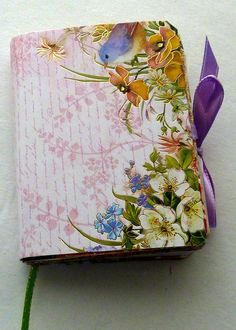 Clearance Travel journal & notebook handmade by LDphotography