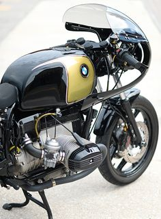 Cafe Racer Pasión — BMW R100RS Cafe Racer by Joe DeMoss |...