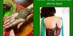Awesome Marriage Mehndi Designs 2016 For Hands