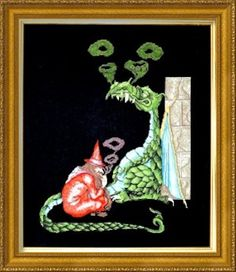 Old Smokey and Magic Moments are fantastic dragon cross stitch patterns. Let your imagination run riot while you stitch these counted cross stitch dragons Blackwork Embroidery, Hand Embroidery Stitches, Embroidery Techniques, Dragon Cross Stitch, Cross Stitch Fairy, Cross Stitch Designs, Cross Stitch Patterns, Elephant Cross Stitch, Needlepoint Stitches