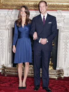 At the announcement of her engagement to Prince William, 2010  - GoodHousekeeping.com